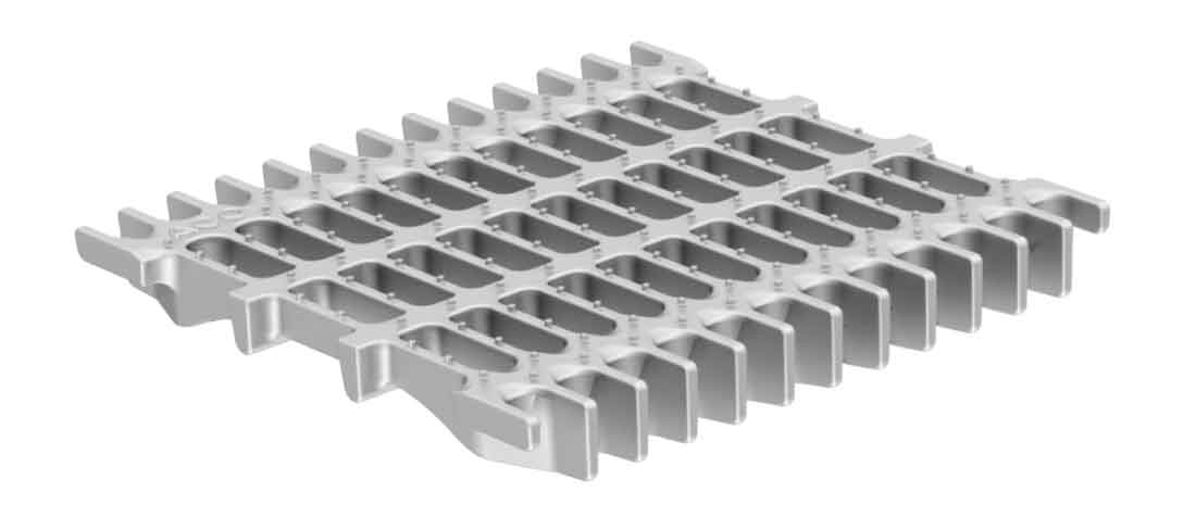 ACO Hygienic Cast Grate